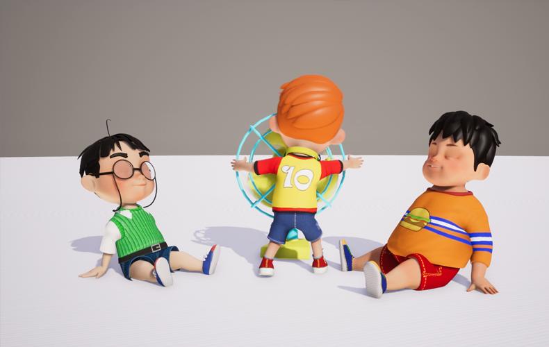 Sản phẩm học viên Animation Nâng Cao tại InCom Academy