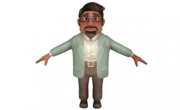 Sản phẩm Model nhân vật hoạt hình của học viên InCom Academy